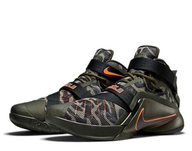 online store 3dd71 c0d30 Nike Lebron Soldier IX 9 Dunkman Camo Promo NBA PE Player 17