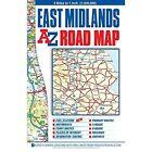 East Midlands Road Map 22e Geographers A-z Co Ltd Sheet Folded 9781782570271