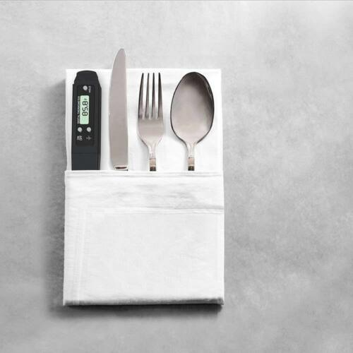 Mini Black Master Cook Pocket Meat Thermometer Instant Read