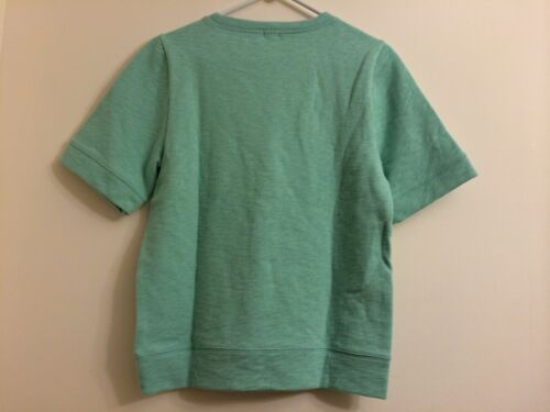 Nwt à Sweats S Pullover J courtes Shirt crew manches Taille rnWpgRr