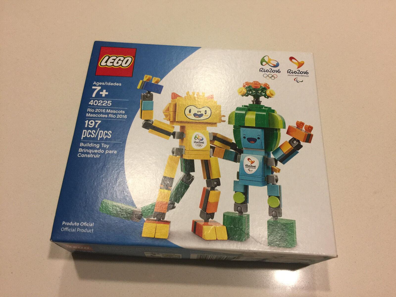 LEGO 40225 RIO 2016 MASCOTS - INTROVABILE MISB