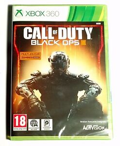Call-Of-Duty-Black-Ops-III-3-Neuf-scelle-sous-blister-d-039-origine-Jeu-XBOX-360