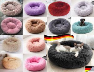 Haustier-warm-Hundebett-Hund-Katze-Bett-Nest-Kissen-weich-waschbar-flauschig-DE