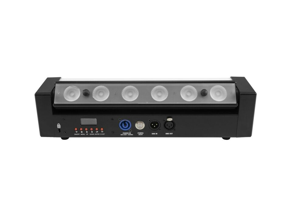 LED batterilamper, Eurolite AKKU Bar-6 Glow QCL Flex Quick
