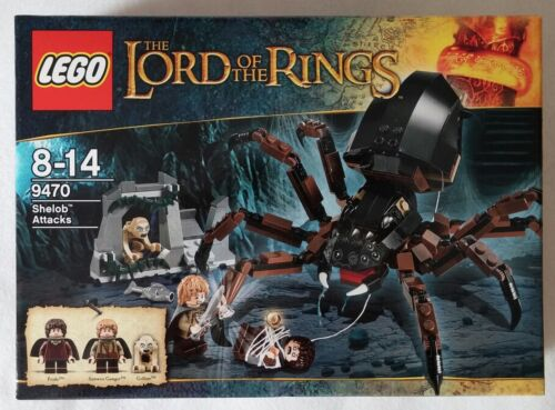 Lego Lord Of The Rings Herr Der Ringe 9470 Spinne Shelob Attacks Neu Ovp New Lego Baukasten Sets Spielzeug