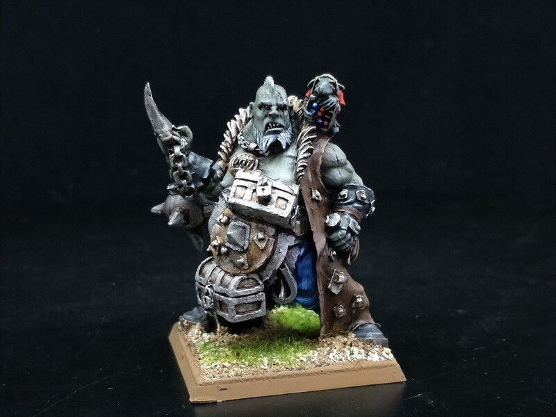 25mm Warhammer Fantasy DPS painted Ogre Kingdoms Paymaster Maneater AP2340