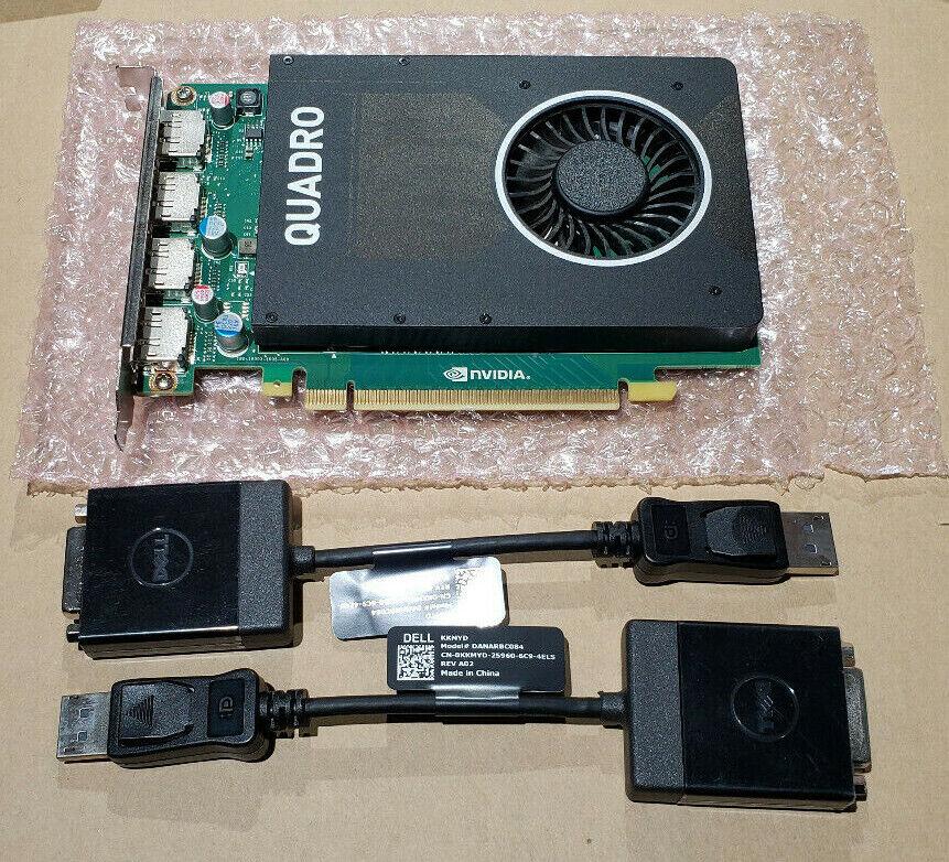 DELL NVIDIA QUADRO M2000 4GB GDDR5 PCIE WORKSTATION VIDEO GRAPHICS CARD 0W2TP6