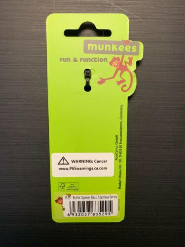 Munkees Stainless Steel Bottle Opener Bass 3529