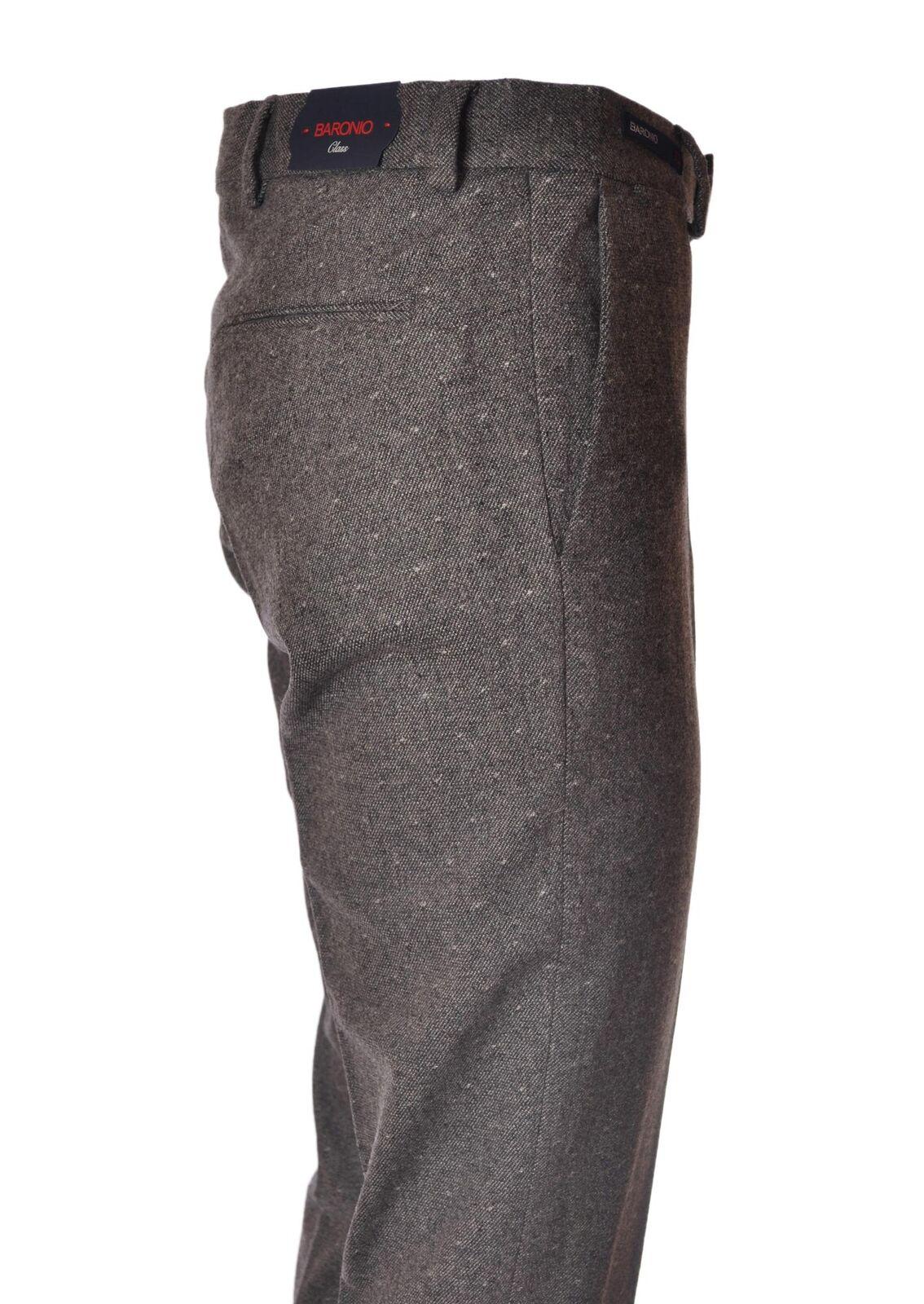 Baronio  -  Pants - Male - Grey - 4390725A185336