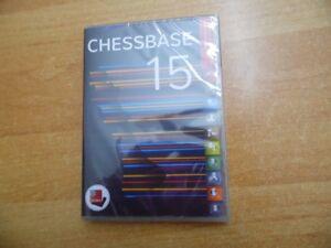 Die neue Chessbase 15 Datenbank mit neuen Funktionen als Neuware