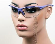Erb Ella Purple Clear Lens Safety Glasses Womens Motorcycle Z87