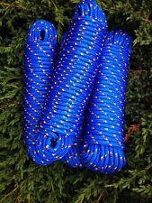 Nr.10 Blaue Festmacherleine 10mm, 30m,Seil,Leine,Schnur,Rope, Reep, Tauwerk,Tau,