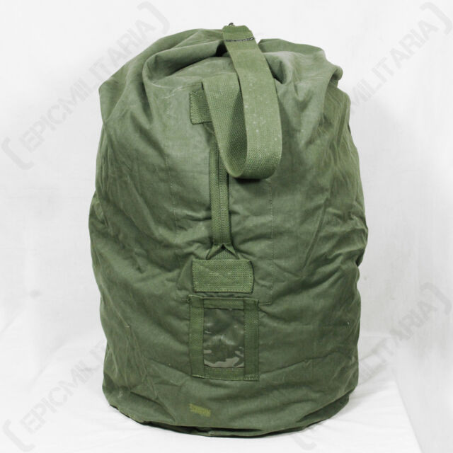 Dutch Army Duffel Bag - Large Holdall 100L Military Rip-Stop Sack Canvas  Kit WW2 d762adeb2539c