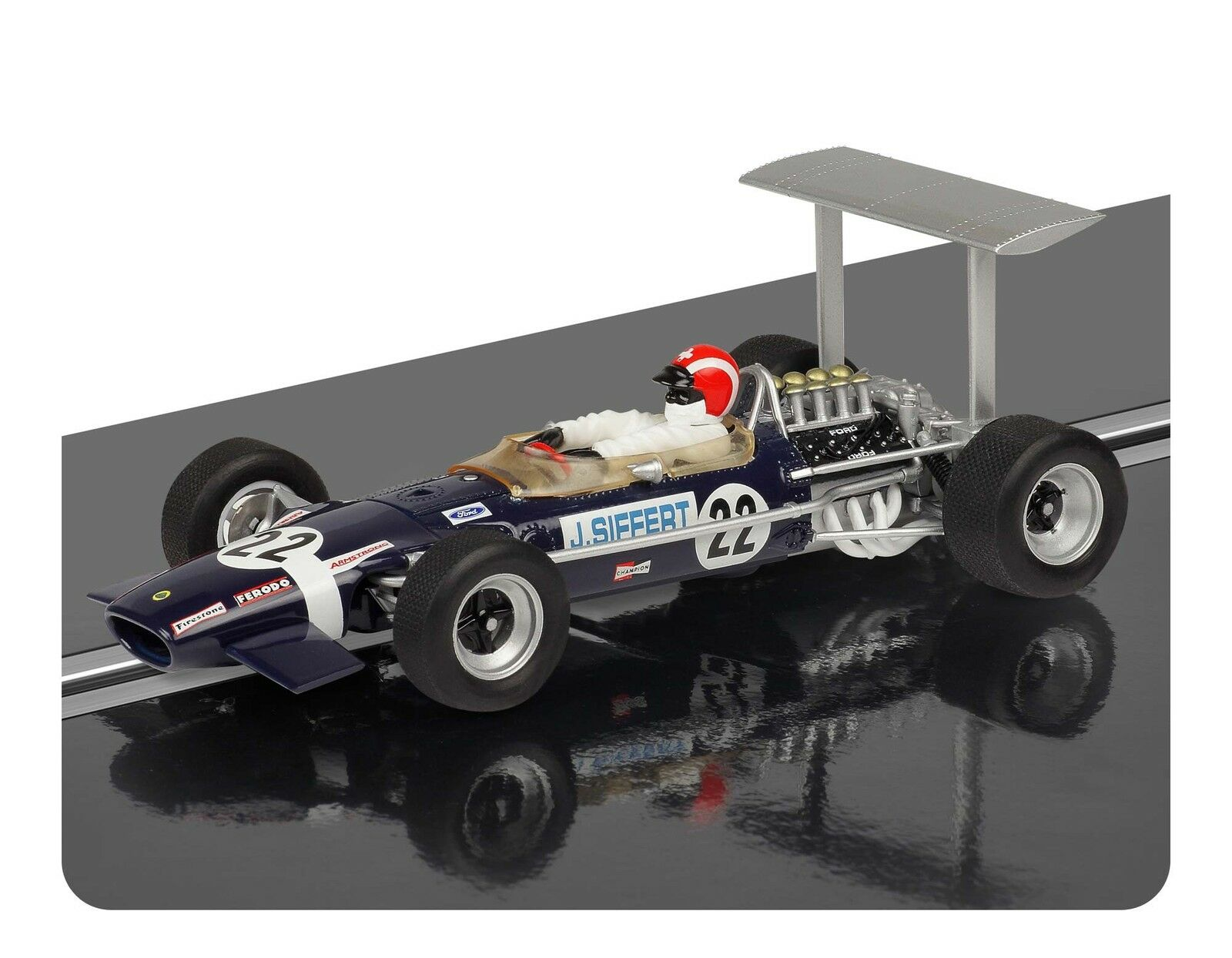Scalextic C3413 Lotus 49B Walker Racing 22
