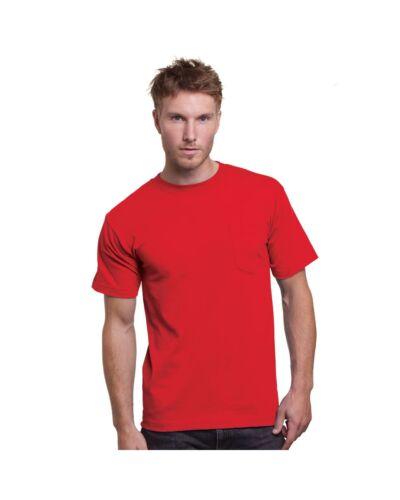 BA3015 Bayside  Union-Made Short Sleeve T-Shirt with a Pocket 3015