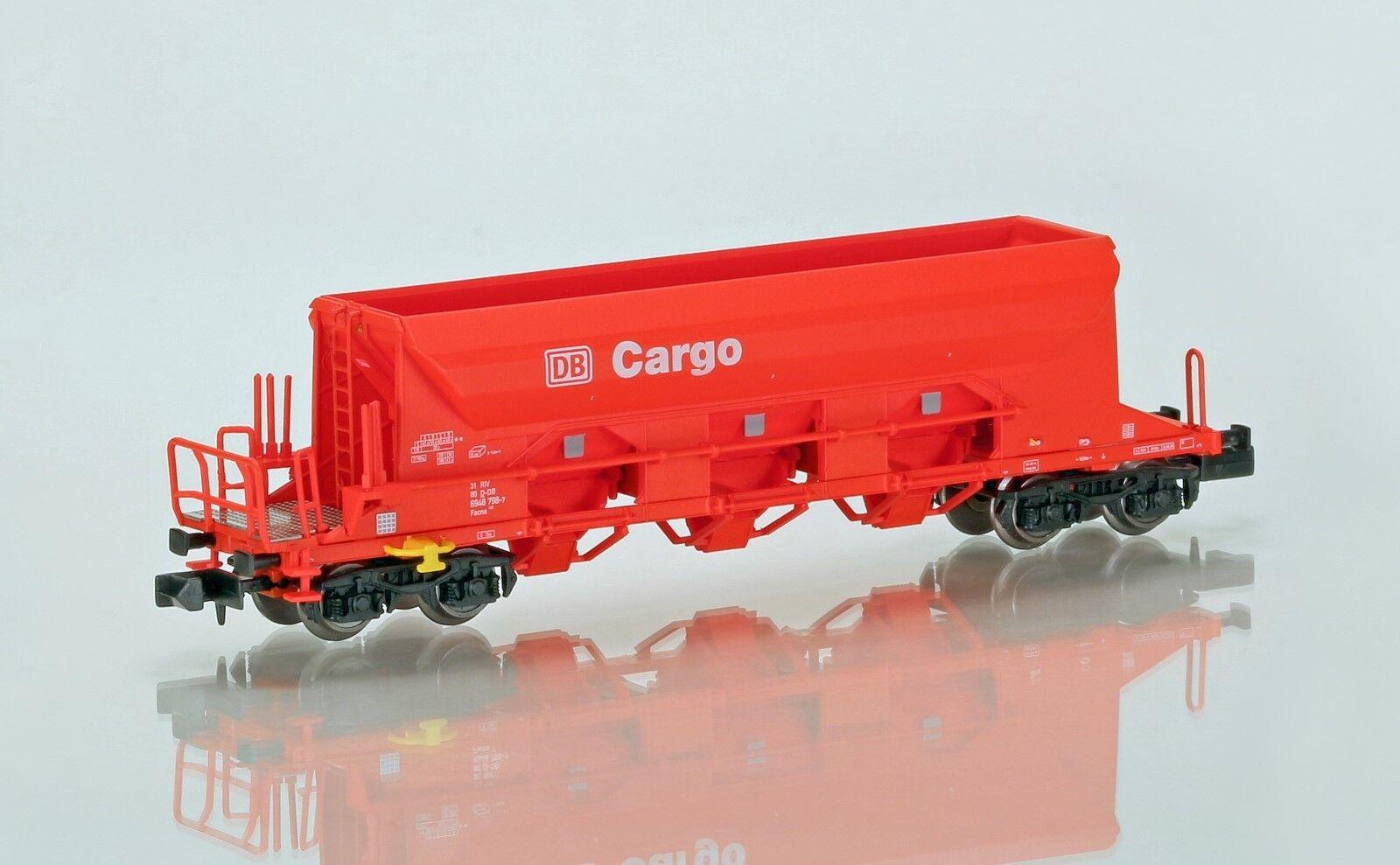 NME N 202503 DB Cargo VAGONE TRASPORTO PIETRISCO 4 assi ep. 5 NUOVO conf. orig.