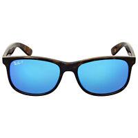 Ray-Ban Men's Mirrored RB4202-710/9R-55 Brown Wayfarer Sunglasses