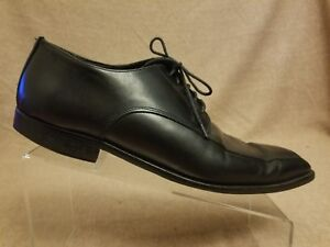 Sz in Derrick Shoes Dress Boot nera Up pelle New 11 To Uomo Lace Oxford York Adam wU6AYFq