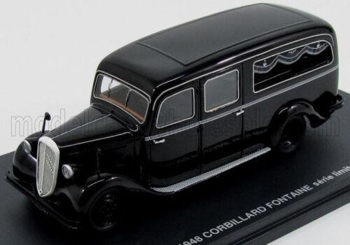 1//43 wonderful modelcar CITROEN U23 CORBILLARD FONTAINE HEARSE 1948 black