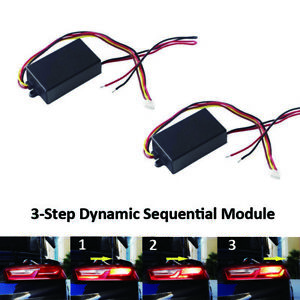 Cool Universal 3 Step Sequential Chase Flash Module Boxes For Car Turn Wiring 101 Eattedownsetwise Assnl