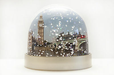 Snow Globe of London,snow shaker,Big Ben,Westminster bridge,Tower bridge,redbus