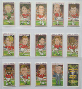 MANCHESTER-UNITED-1999-CHAMPIONS-039-LEAGUE-WINNERS-CARD-SET