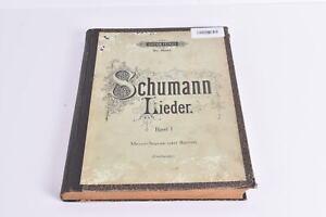 Notenbuch Schumann Lieder Band I Mezzo-Sopran oder Bariton Edition Peters 2383b,