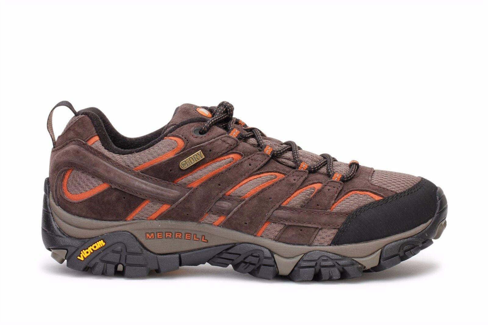 {J06027} Men's Merrell Moab FST Hiking Walking Shoe Espresso *NEW!*