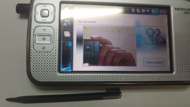 Nokia N Series N800 256mb Wi Fi 41in Black Ebay 603 2gb White