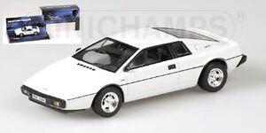 Lotus-Esprint-White-007-James-Bond-1-43-Model-MINICHAMPS