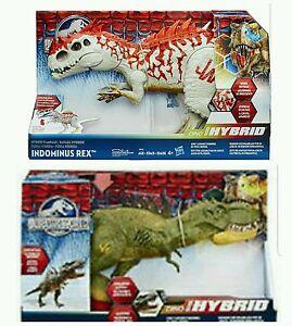 Jurassic World Hybrid Rampage Indominus Rex and FX ...
