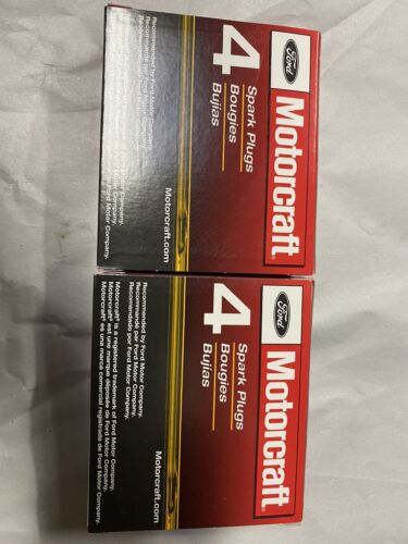 Set of 8 Genuine Ford Motorcraft Platinum Spark Plugs SP-479 AGSF22WM