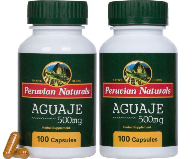Aguaje 500mg - 200 Capsules | Peruvian Naturals