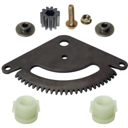 Fits John Deere L118 L120 L130 Selective Sector Gear Pinion Gear w//Bushings