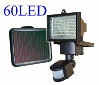 8 X 60 Led Solar Powered Motion Sensor Security Flood Light Outdoor Lights