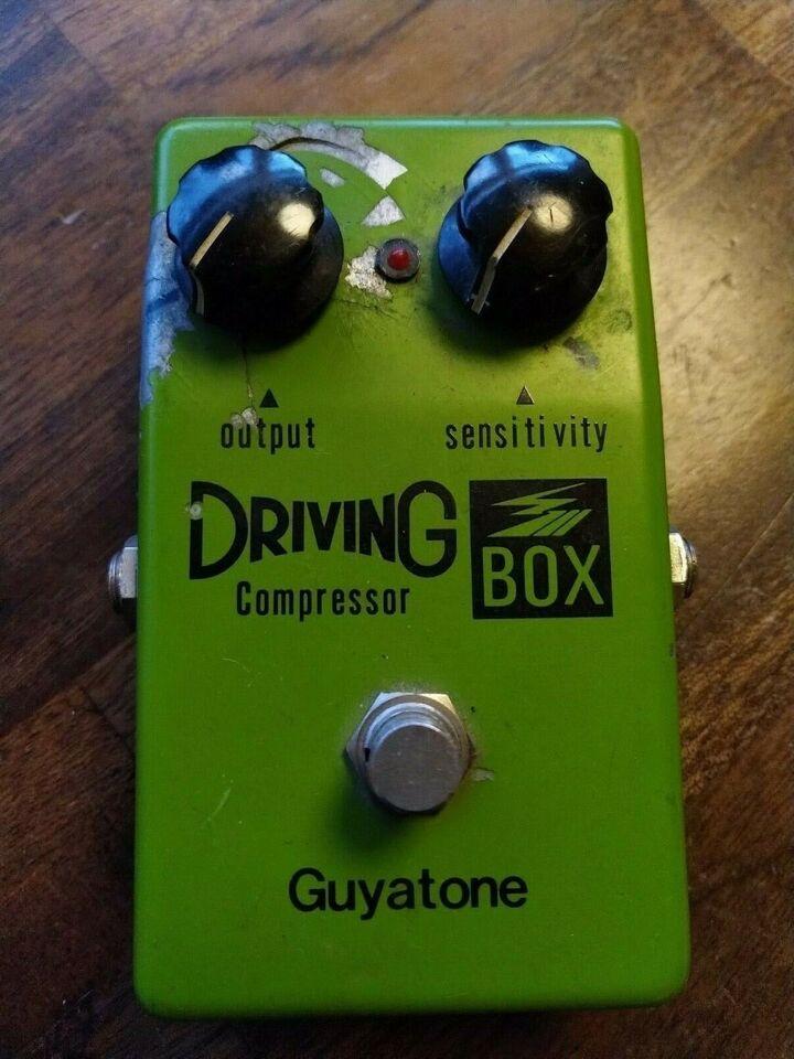 Compressor, Guyatone Driving compressor