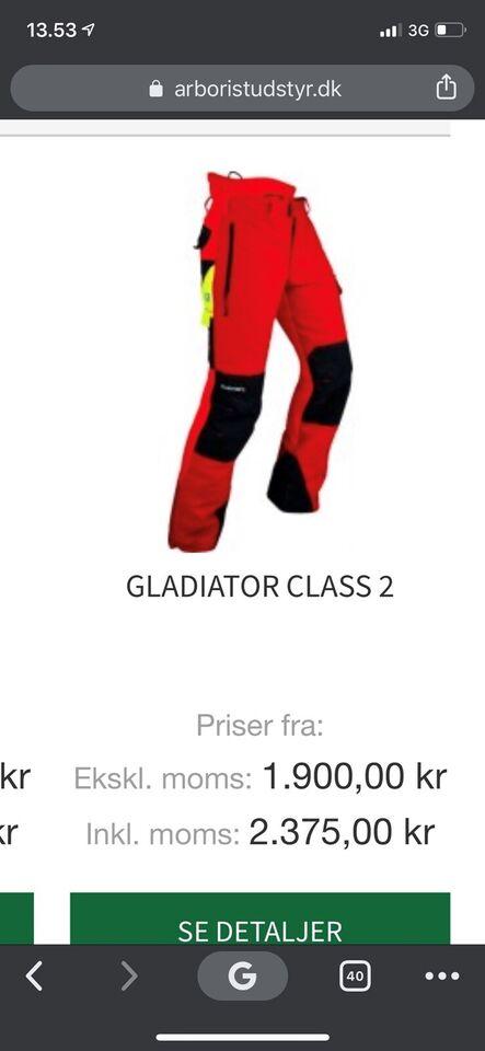 Pfanner skære bukser grå Class 2 str – dba.dk – Køb og Salg