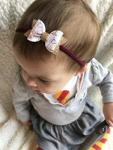 Image is loading Harry-Potter-Gryffindor-Inspired-baby-girl-toddler-headband - 598801d0d58