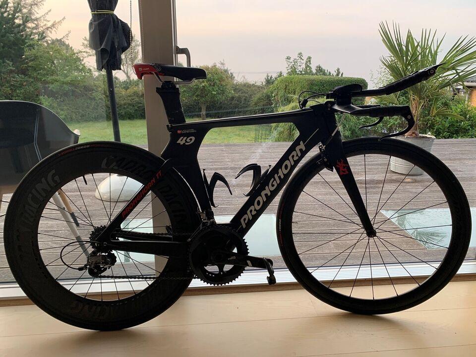 Triatloncykel, andet mærke Pronghorn TT, 49 cm stel