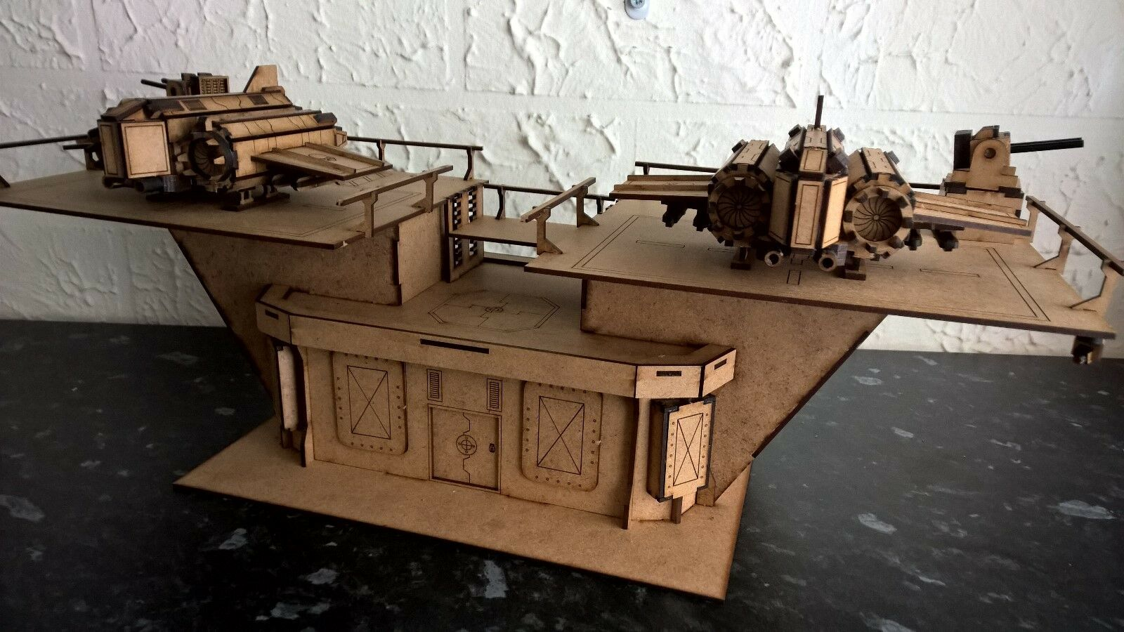 Fighter defence warhammer 40k wargame infinity building terrain scenary Legion