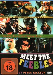 Meet-the-Feebles-DVD-Region2-UK-amp-Europe-100-uncut-Peter-Jackson