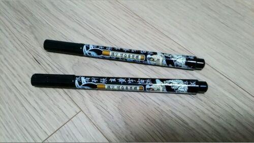 Asian Korean Chinese Japanese Calligraphy Brush Pen 2pcs Set Made in Korea