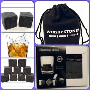 Bar Tools & Accessories Have An Inquiring Mind Whiskey Stones For Scotch Ice Rocks For Drinks Chilling Stone Best Xmas Gift Kitchen, Dining & Bar