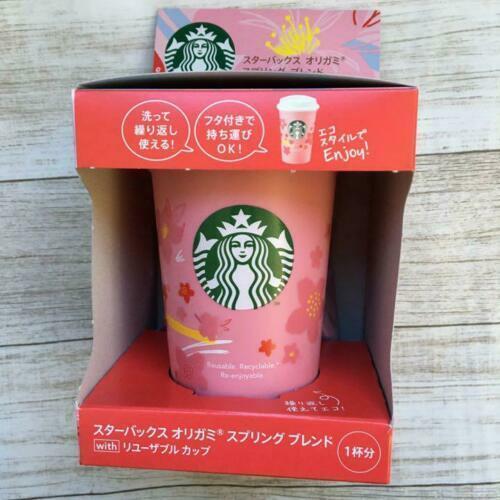 Starbucks Japan Sakura 2020 Reusable Cup Limited Cherry Blossoms