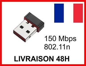MINI-CLE-WIFI-USB-Adaptateur-Sans-Fil-Dongle-Reseau-Wireless-150Mbps-802-11n-g-b