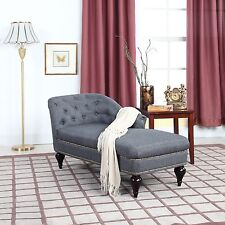 Modern and Elegant Kid's Chaise Lounge for Living room or Bedroom - Dark Grey