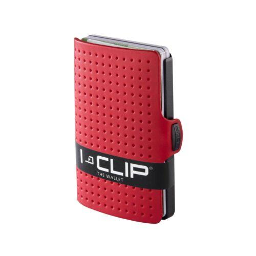 black-noir disponible en 8 Variantes I-Clip ® Portefeuille advantager Red