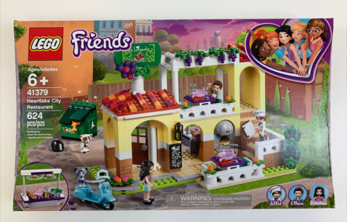NEW LEGO Friends Heartlake City Restaurant 41379 Restaurant Playset 624 Pieces