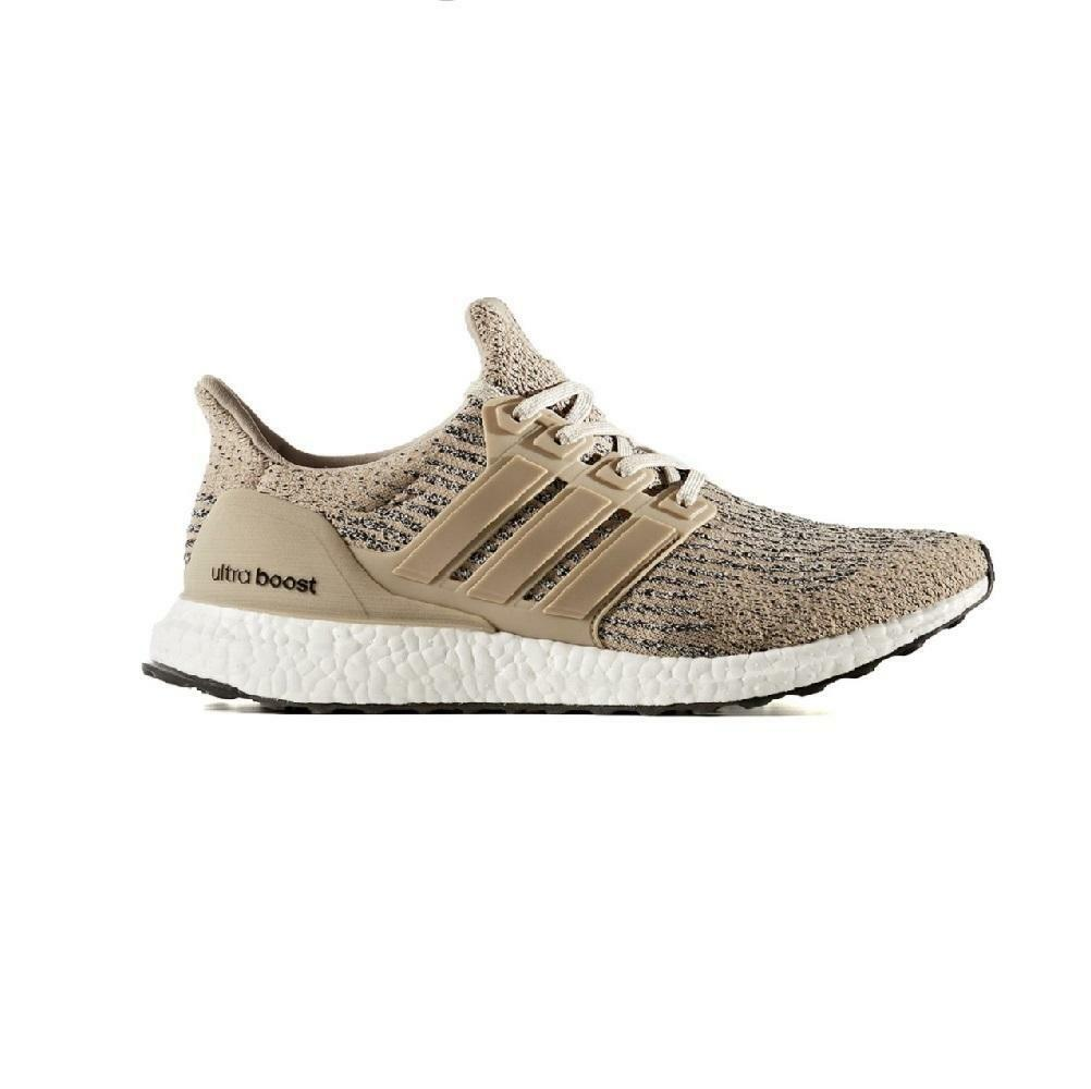 Mens ADIDAS ULTRA BOOST Brown Trainers CG3039