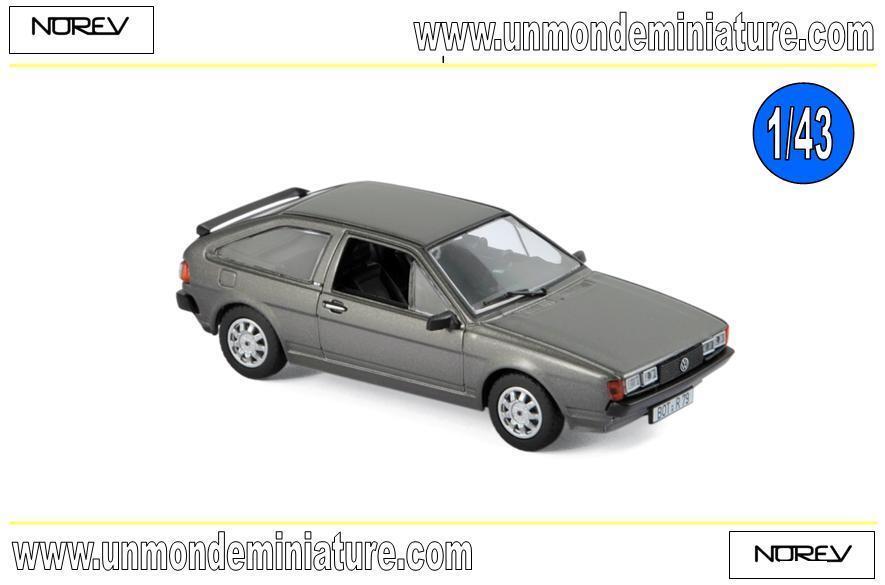Volkswagen Scirocco GT 1981 Anthracite gris metallic  NOREV - NO 840095 - 1 43